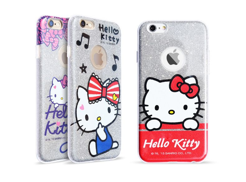 b05e29b40 X-Doria Hello Kitty Soft Shine Ultra Thin TPU Protective Case for Apple  iPhone 6/ iPhone 6S/ iPhone 6 Plus/ iPhone 6S Plus