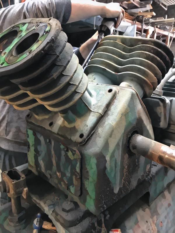Air compressor repair at