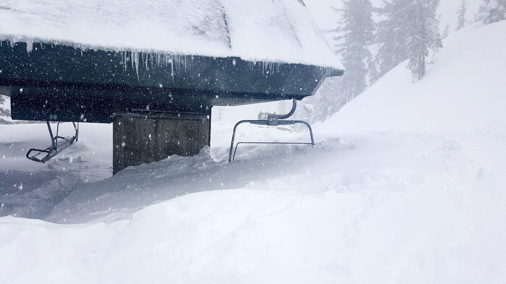 Too much snow Ski holidays, Ski usa, Skiing