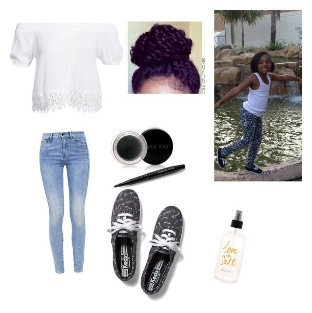 """""""me and Jasmine"""" by zendaya090 ❤ liked on Polyvore featuring Boohoo, G-Star, Keds and Mary Kay"""