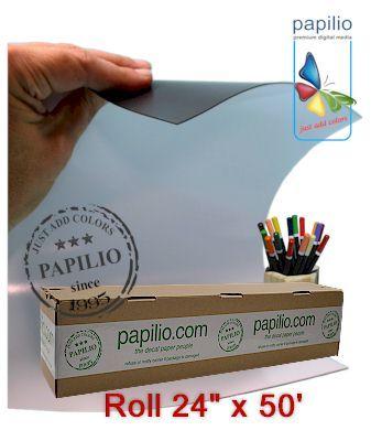 White Waterproof Vinyl 8 5 In X 11 In 10 Sheets Decal Paper Waterproof Vinyl Screen Printing