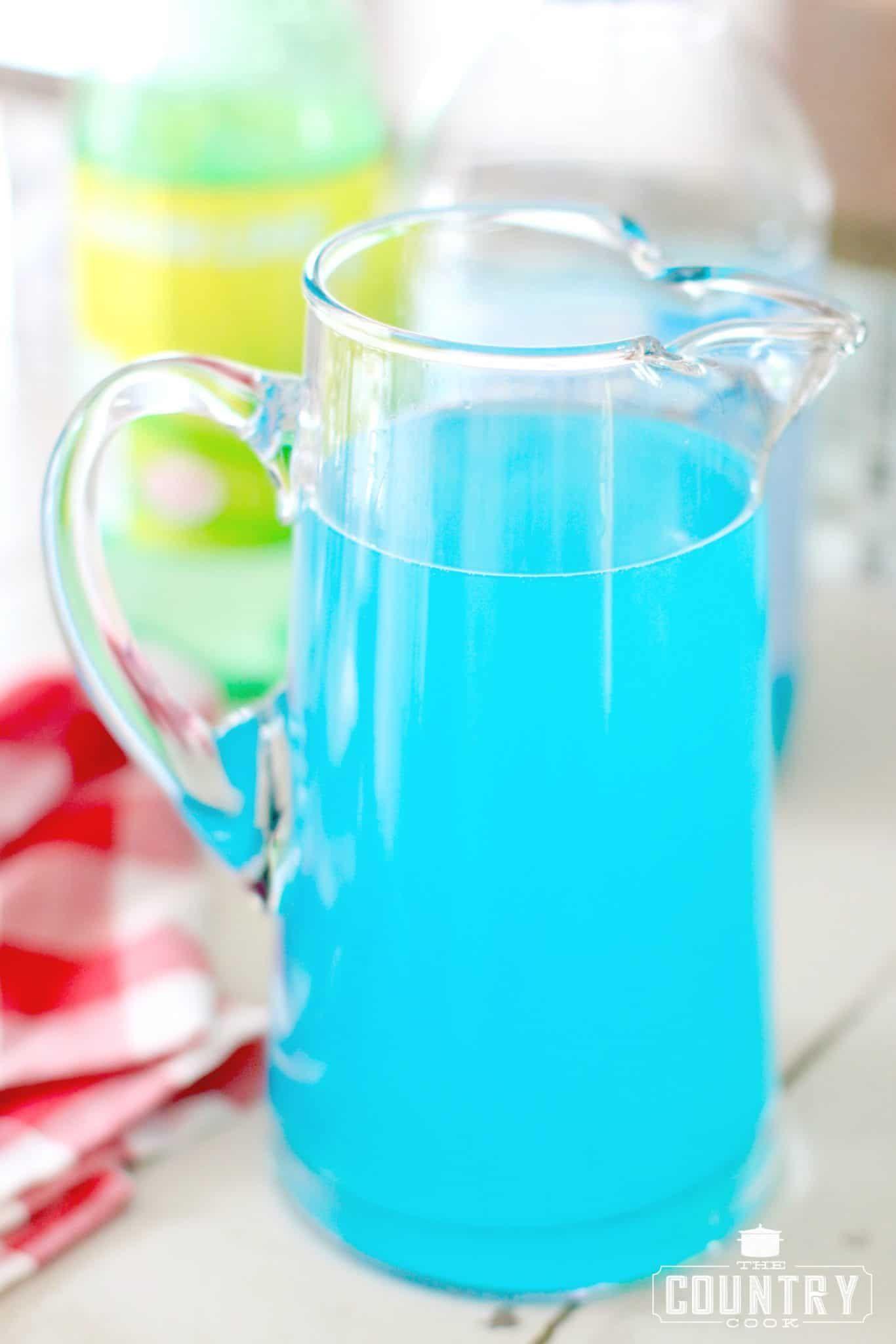 Ocean Water Punch Recipe Alcohol