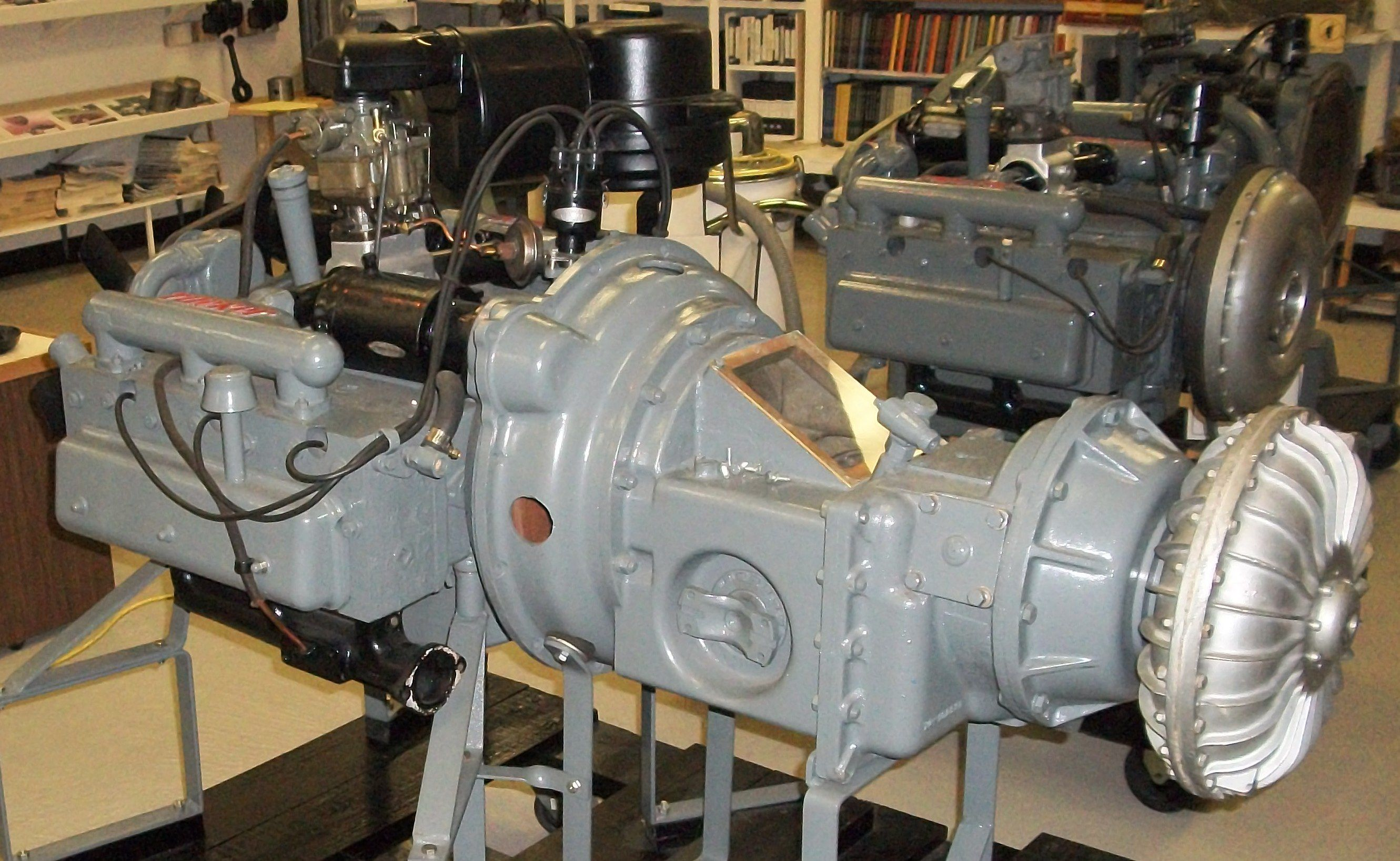 Tucker 335 engine and Tuckermatic R-1-2 transmission (trans