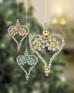 quochet beaded bell pattern  Seed Bead Christmas Ornament