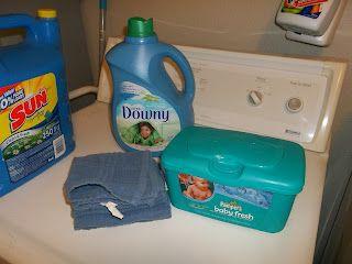 Lilouwyn Explains It All - DIY Dryer Sheets