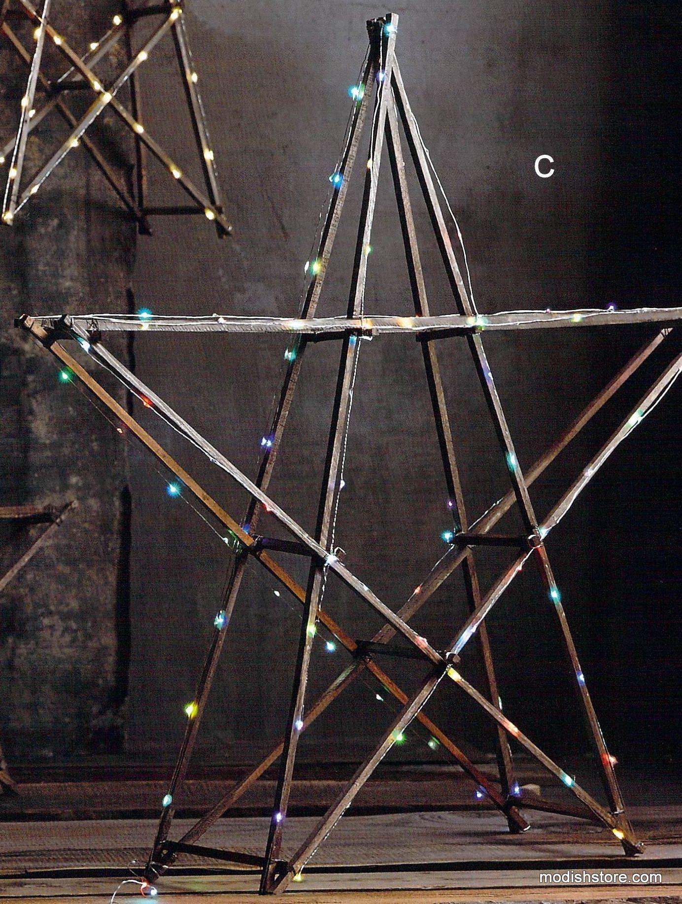Roost Rustic Wood Stars CHRISTMAS Pinterest