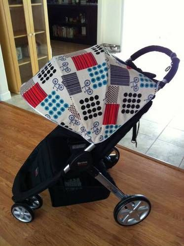 Stroller Canopy Cover (with mini-tute) - MISCELLANEOUS TOPICS - I didnu0027t want to spend big bucks on a stroller for my little guy but I wanted something ... & canopy | strolller cover | Pinterest | Canopy cover Canopy and Minis