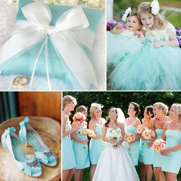 Tiffany Blau Hochzeit Ring Kisten Hochzeitskinder Brautschuhe ...