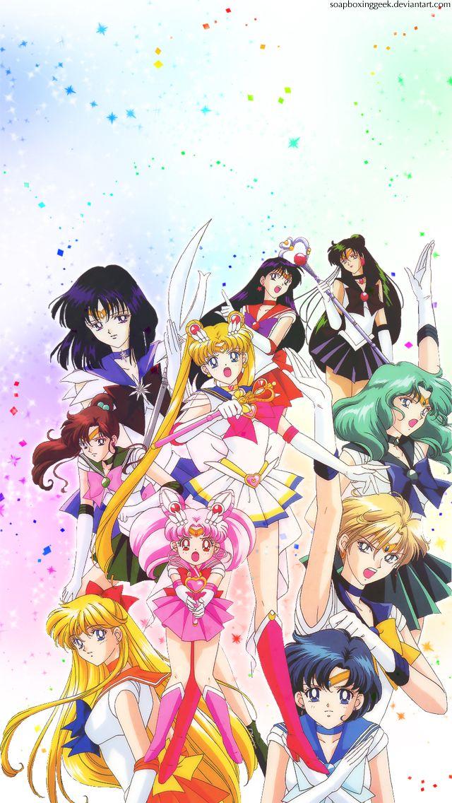 Sailor Moon iPhone wallpaper Sailor moon art, Sailor moon s