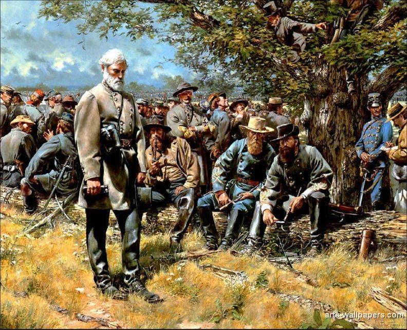 American Civil War Paintings Art Prints Gallery Pictures Artworks Civil War Artwork Civil War Art Civil War Generals