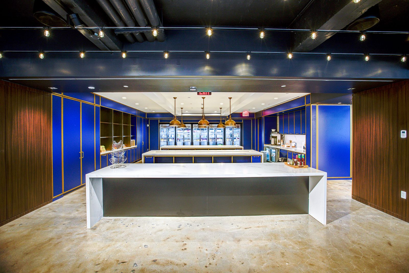 A tour of indeeds new nyc office office cafe new york