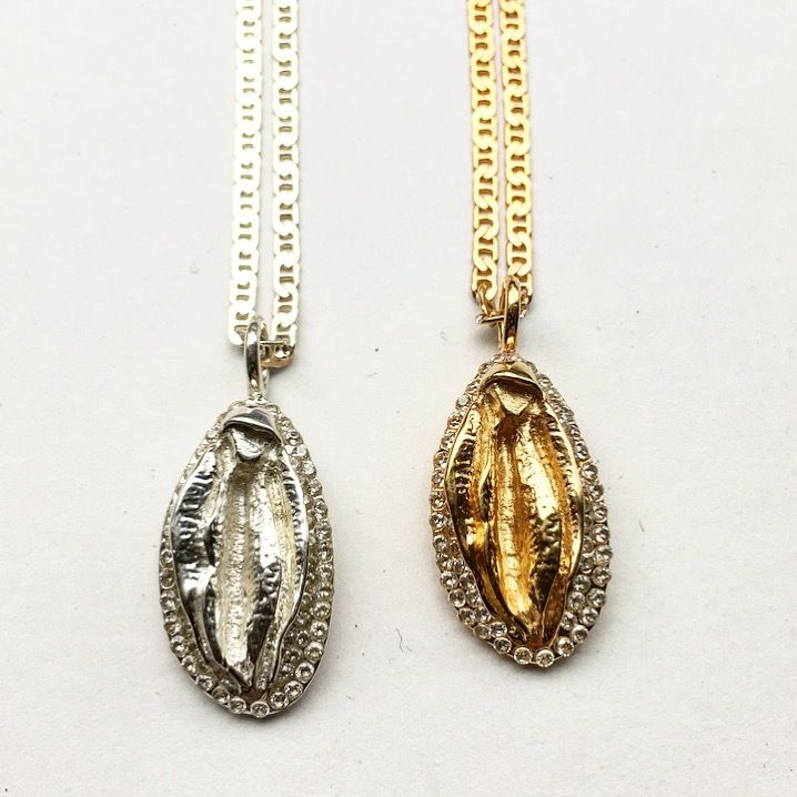Image Of The Christmas Special Vagina Charm Necklace