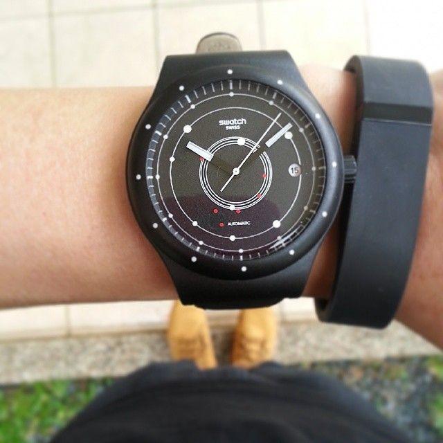 #Swatch SISTEM BLACK http://swat.ch/1nMNnjY