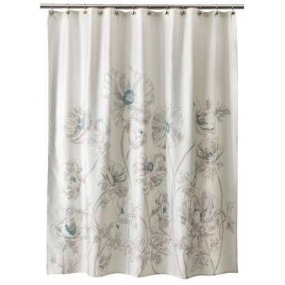 Target Shower Curtain I D Probably Put Some Ruffles At The Top