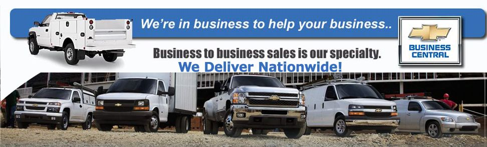 Chevy Fleet Sales With Images Commercial Vehicle Fleet