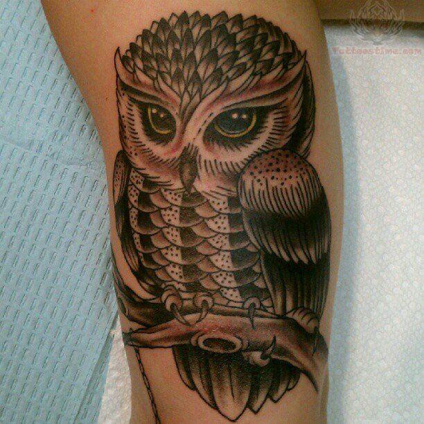 pretty leg tattoo 10 owl leg tattoo on line drawings pinterest tattoo. Black Bedroom Furniture Sets. Home Design Ideas