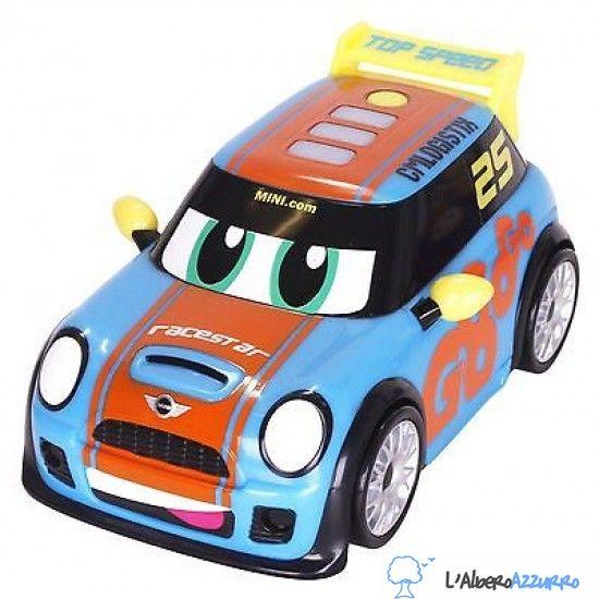 GO MINI POWER BOOST RACER - Macchinina da corsa a batterie - AZZURRA ...