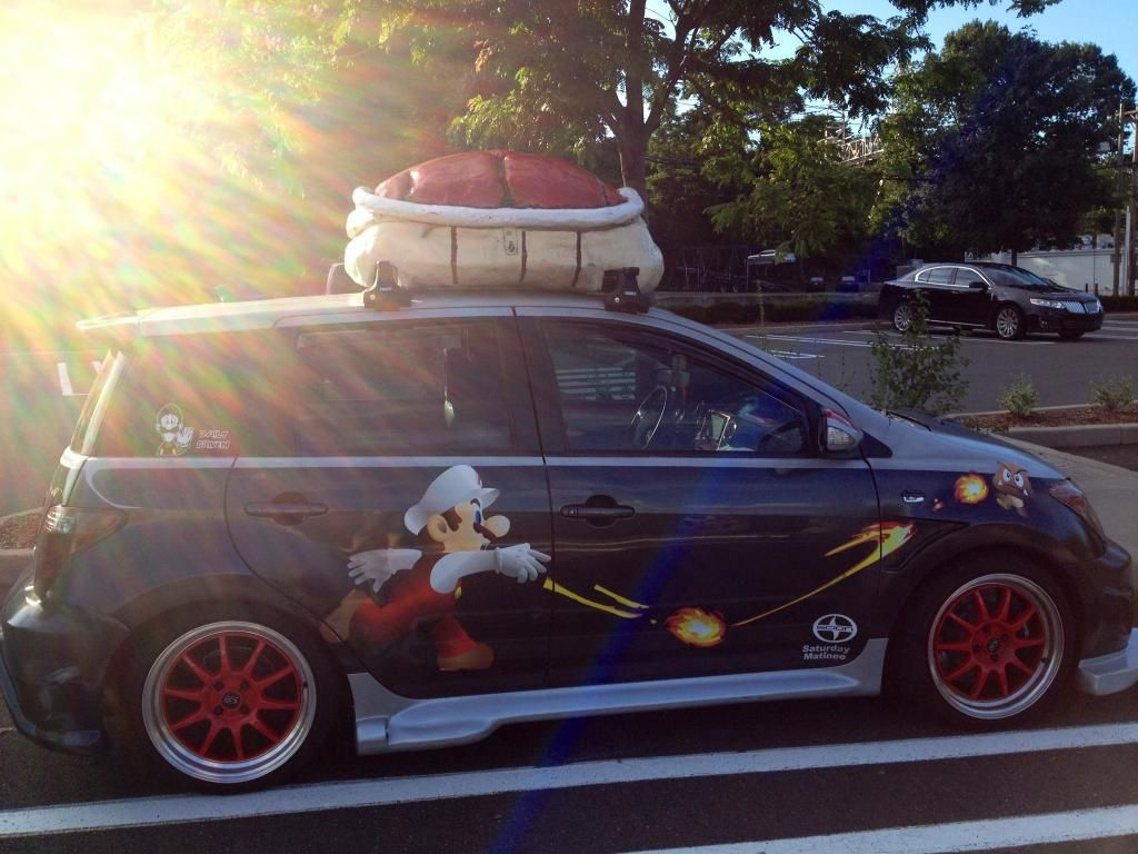 mario kart ain 39 t got nothin 39 on this scion xa toyota. Black Bedroom Furniture Sets. Home Design Ideas