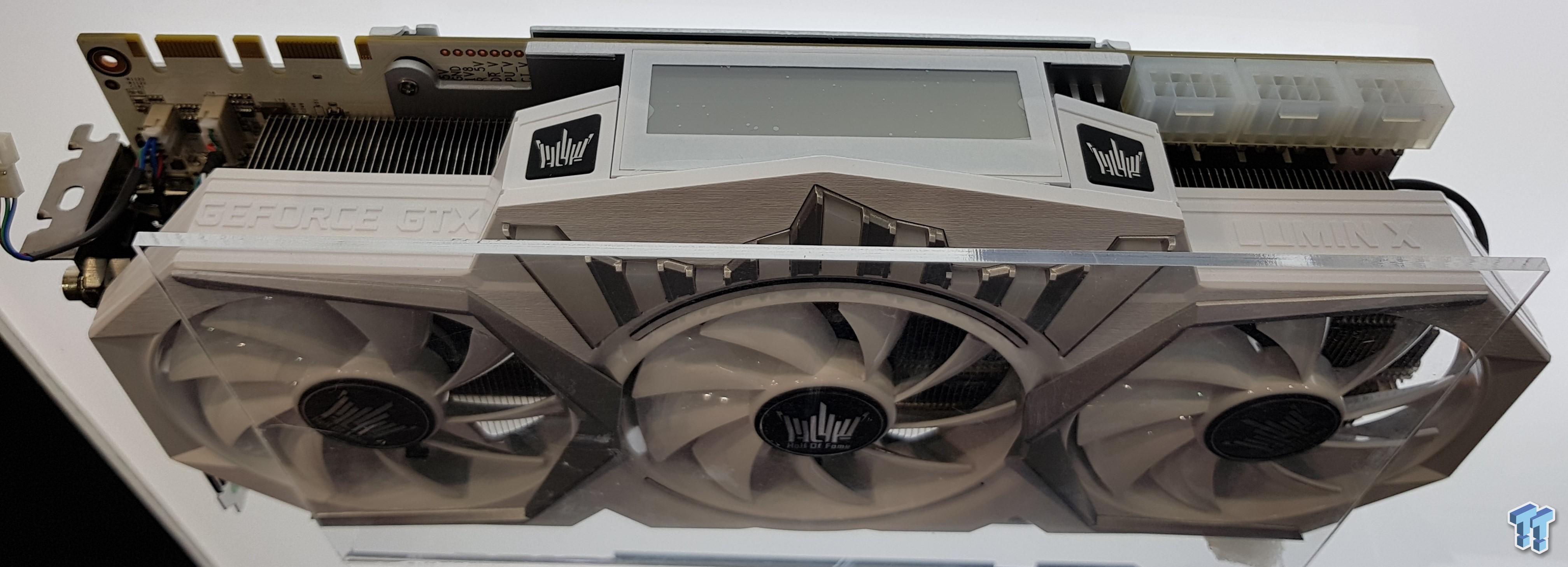 GALAX GeForce GTX 1080 Ti HOF Limited Edition detailed: GALAX GeForce GTX 1080  Ti HOF