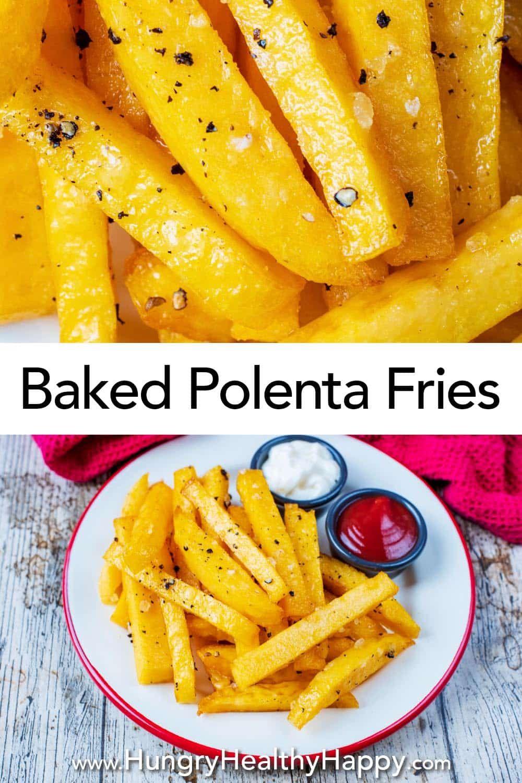 Baked Polenta Fries Recipe Polenta Fries Baked Polenta Polenta Fries Baked