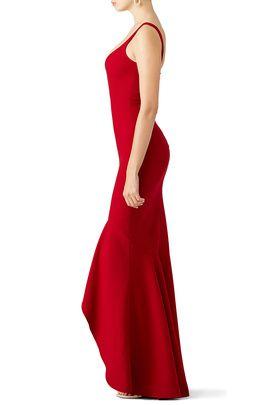 Red Sade Gown By Cinq à Sept Dresses Pinterest Gowns Black