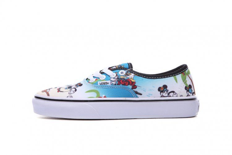 82852229e0 Limited Vans Disney Hawaii Beach Authentic Skateboard Shoes  D07  -  49.99    Vans Shop