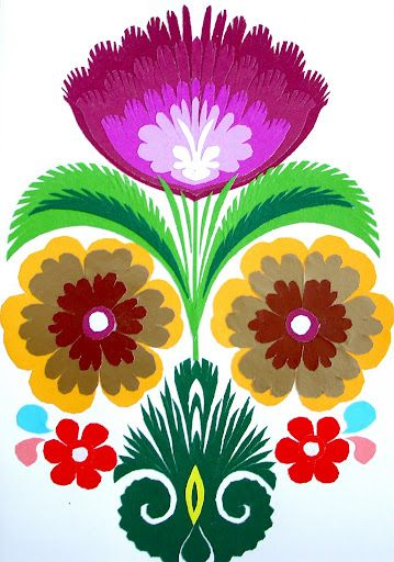 Wycinanki (polish paper cutting art)
