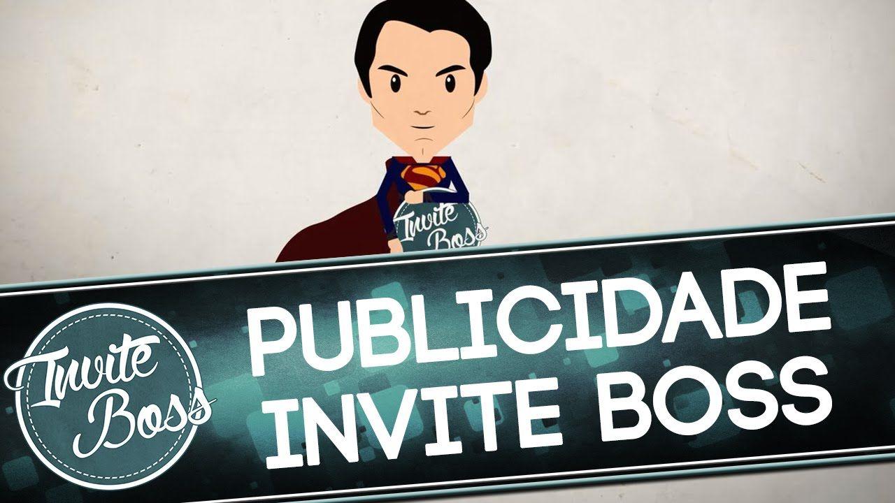 Publicidade Texto Animado (Promoção) - Invite Boss