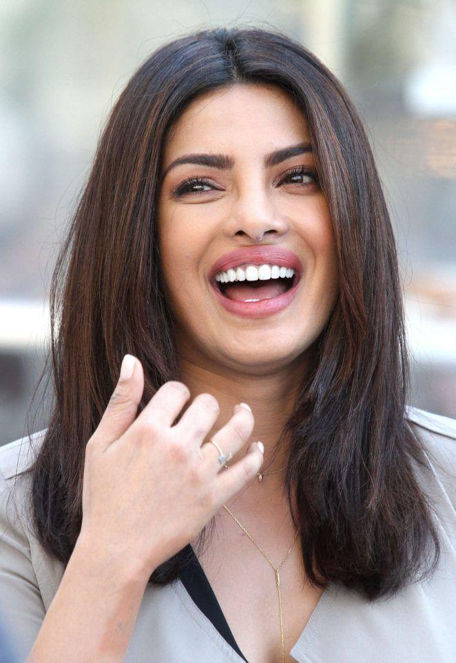 Indian Women Priyanka Chopra Smiling Face Stills In Black Top | Actress priyanka  chopra, Priyanka chopra, Priyanka chopra wallpaper