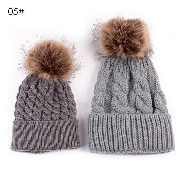 8870aa6ff21 2PCS Parent-child Hat Warmer