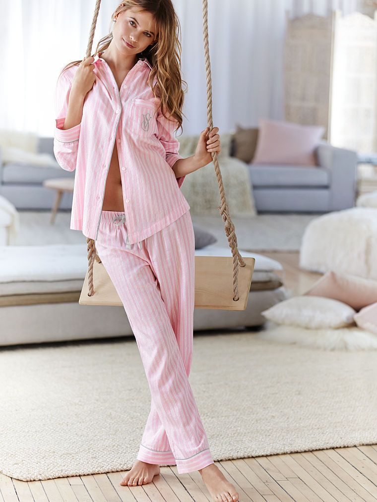 9918c6fe02 Victoria s Secret Dreamer Flannel Pajama