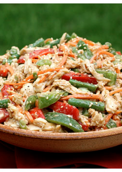 Lighter Chinese Chicken Salad Gimme Some Oven Recipe Delicious Salads Chinese Chicken Salad Recipes