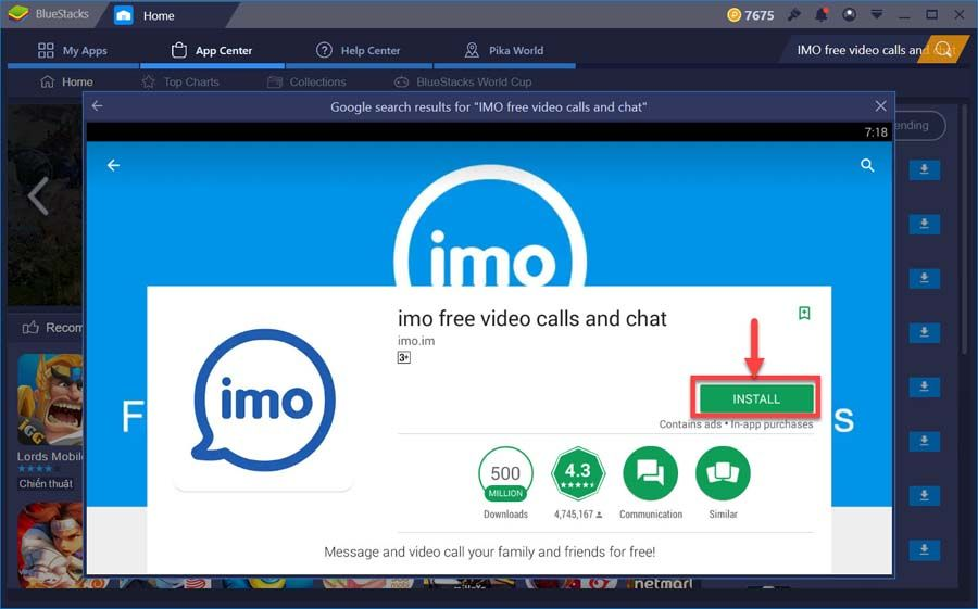 Imo Install Free Call Download