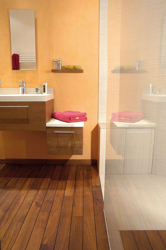 Resultat De Recherche D Images Pour Teinte Parquet Syntilor Jatoba Modern Bathroom Design Home Organization Hacks Modern Bathroom