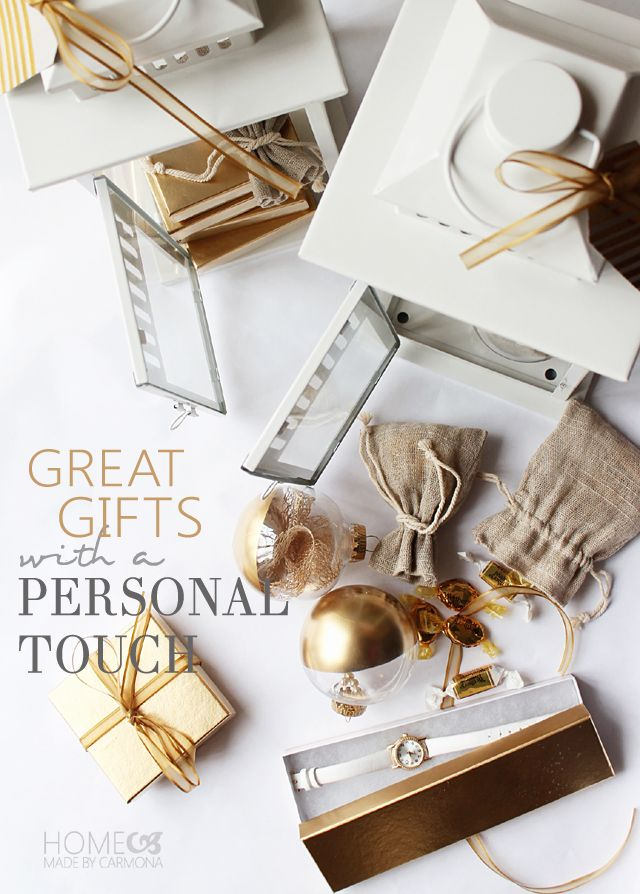 Today Iu0027m sharing 3 great gift ideas that wonu0027t break the bank and have that extra special personalized touch! I started with a few beautiful BHG at ... & Gift Giving With A Personal Touch | Projects to Try | Pinterest ...