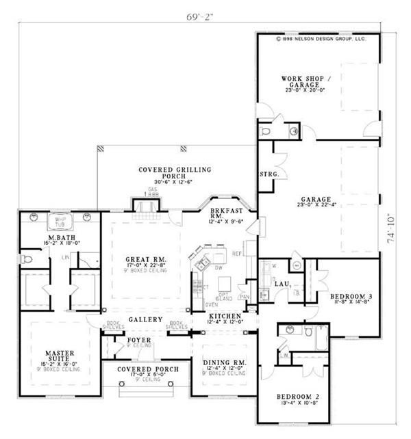 Floor Plan First Story for Ranch House with workshop   Ranch ... on ranch house layouts, ranch house floor plans, ranch house plan for elevation, ranch house style kitchens, ranch style house plan front view, ranch style house interiors, ranch style house plans elevation, ranch log house, cabin plans with, ranch style house with porch, ranch walkout plans, ranch house in sanford florida,