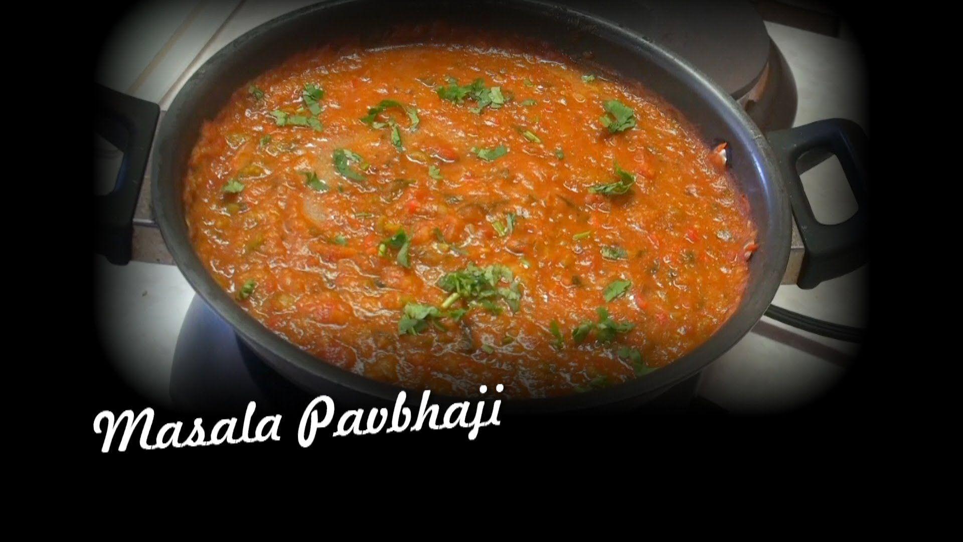 Masala Pav Bhaji Video Recipe Indian Recipes By Bhavna