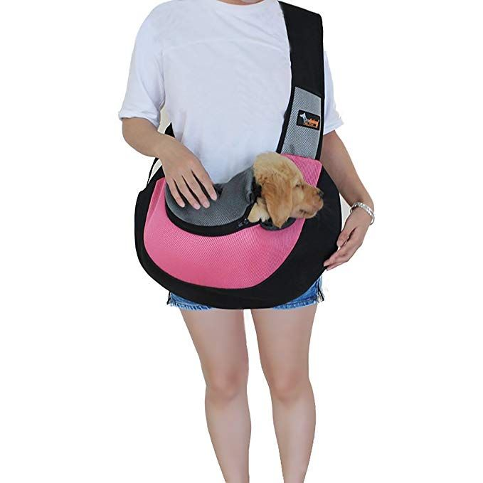 Pet Sling Dog Cat Sling Carrier For Cats Dogs Bunny Up To 13 Lbs