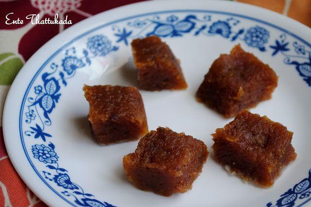 Ente Thattukada: Banana Halwa - Kerala Style
