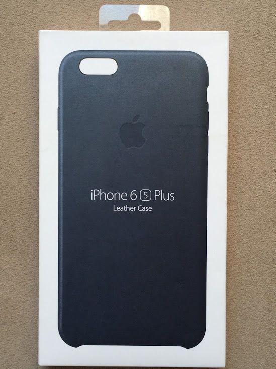 Genuine Apple Iphone 6 6s Plus Leather Case Midnight Blue Mkxd2zm