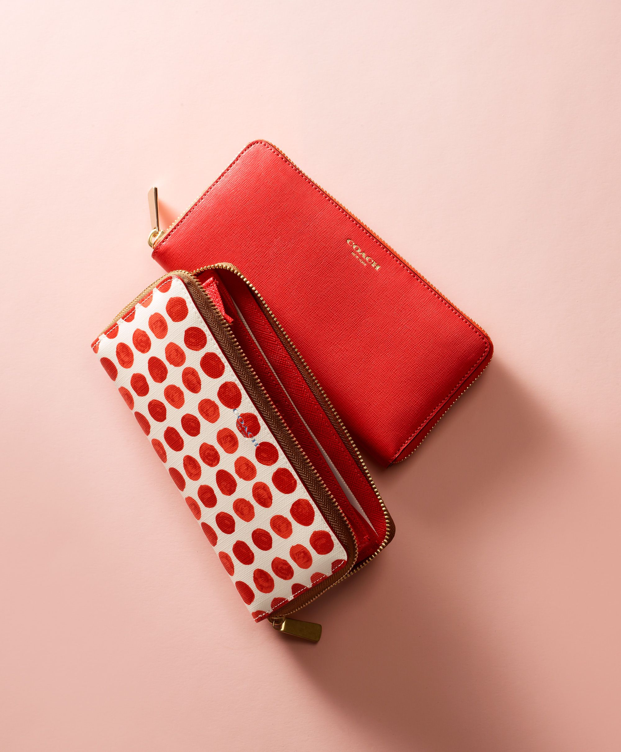 A gift for every valentine Love,  Coach---I don't care for red, but I love the polka dots!  Charity Chics www.charitychics.com