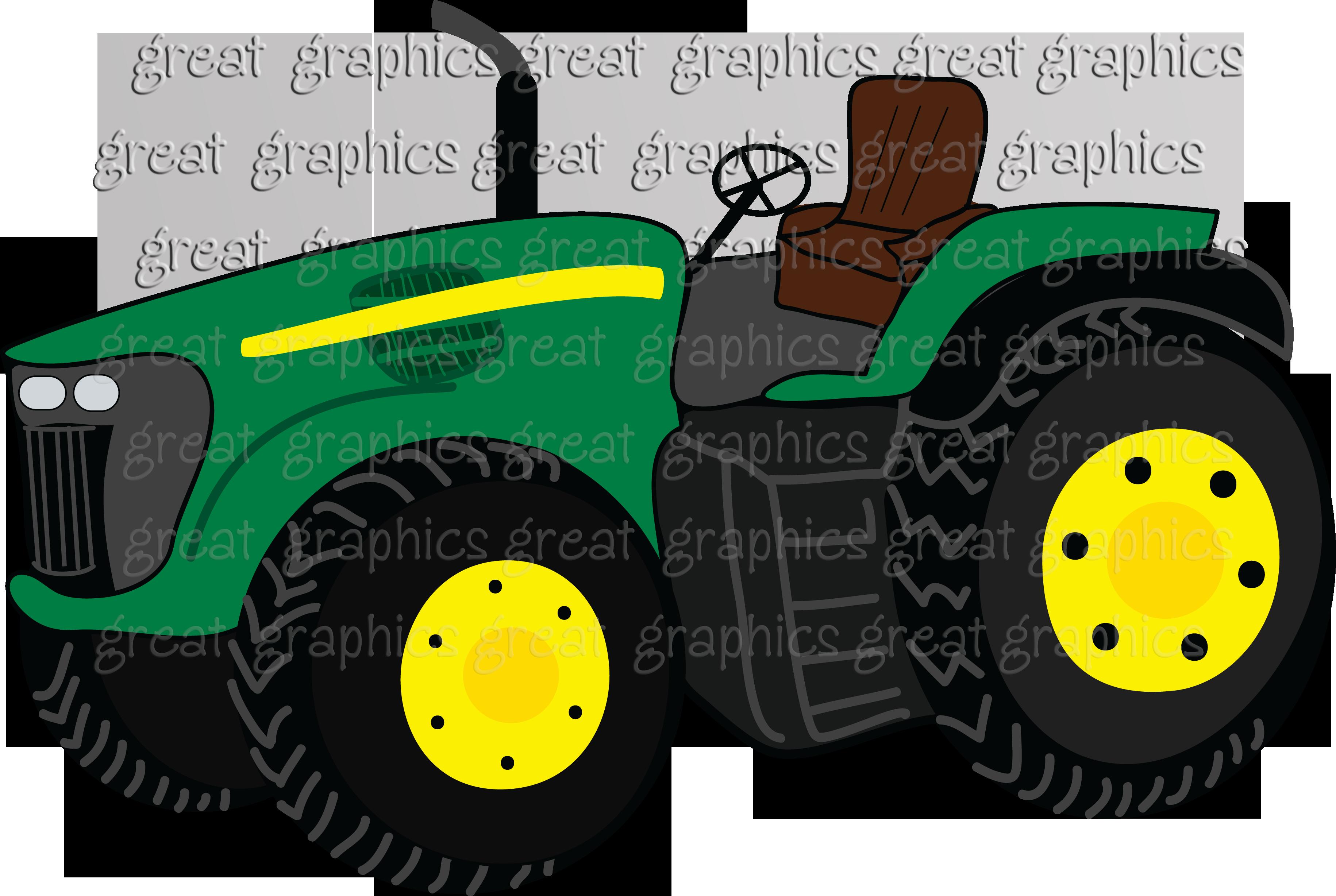 John Deere Tractor Cartoon Drawing : Cartoon john deere tractor google search branding farm