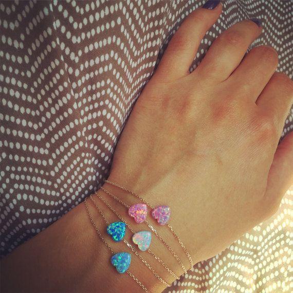 Neue 925 Rose gold vergoldet Armband mit von JasmineJewelryShop