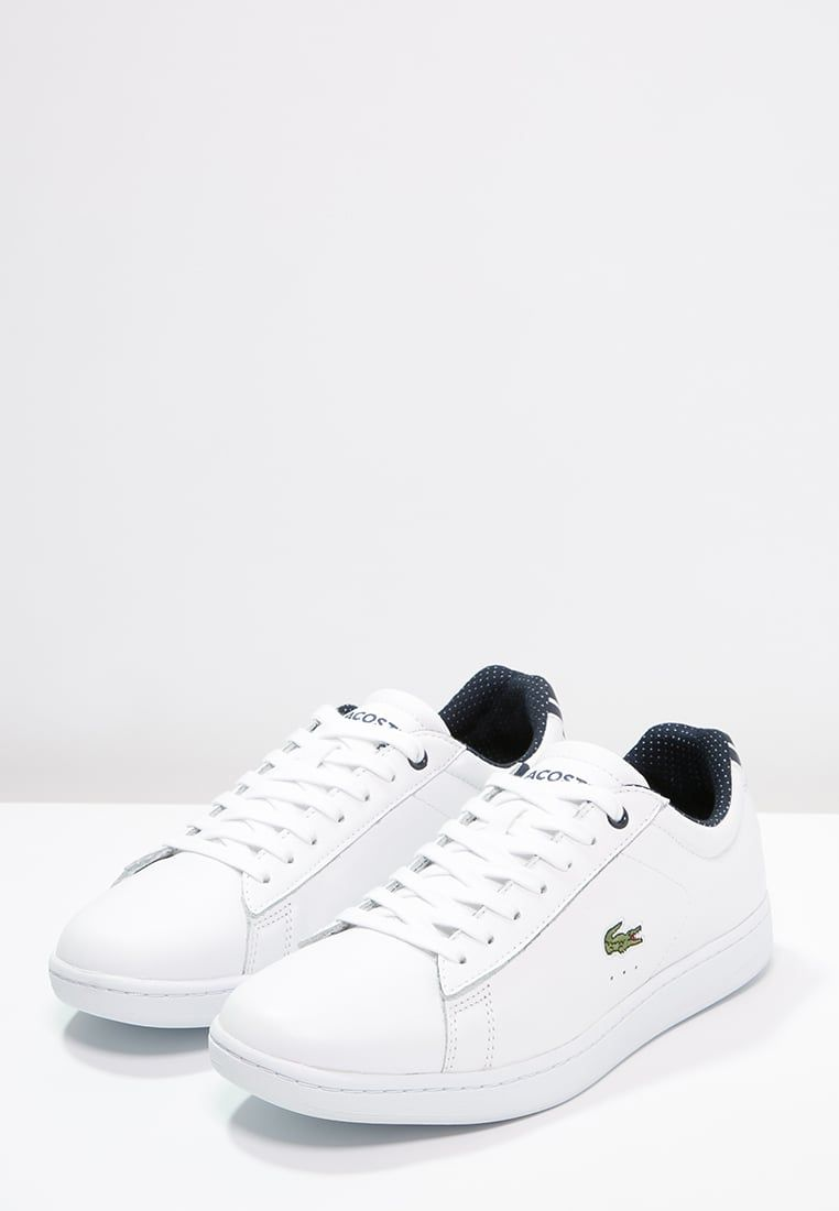 Lacoste Carnaby Evo Baskets Basses White Zalando Fr Chaussures De Course Chaussure Chaussure Mariage
