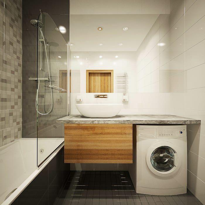 11 smart small bathroom ideas | Small washing machine ... on Small Space Small Bathroom Ideas With Washing Machine id=46050