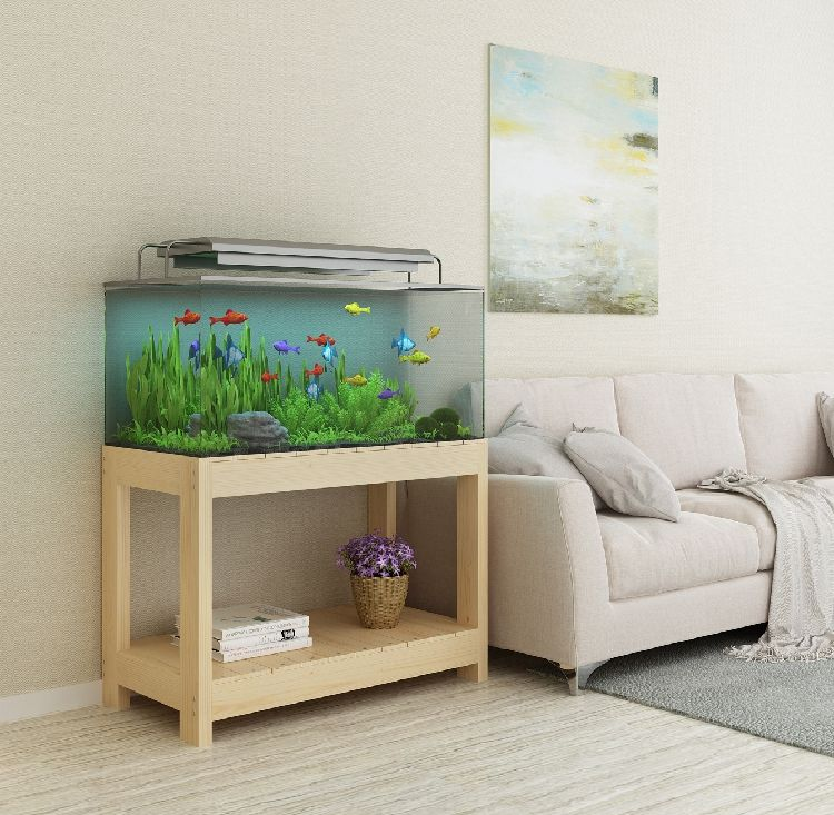 Fish Tank Cabinet Aquarium Shelf
