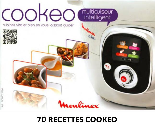 Livre de recette pour cookeo