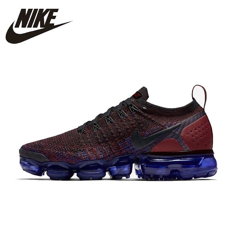 53d0ac6257 NIKE AIR VAPORMAX FLYKNIT 2 Original Mens Running Shoes Super Light  Stability Support Sports Sneakers For