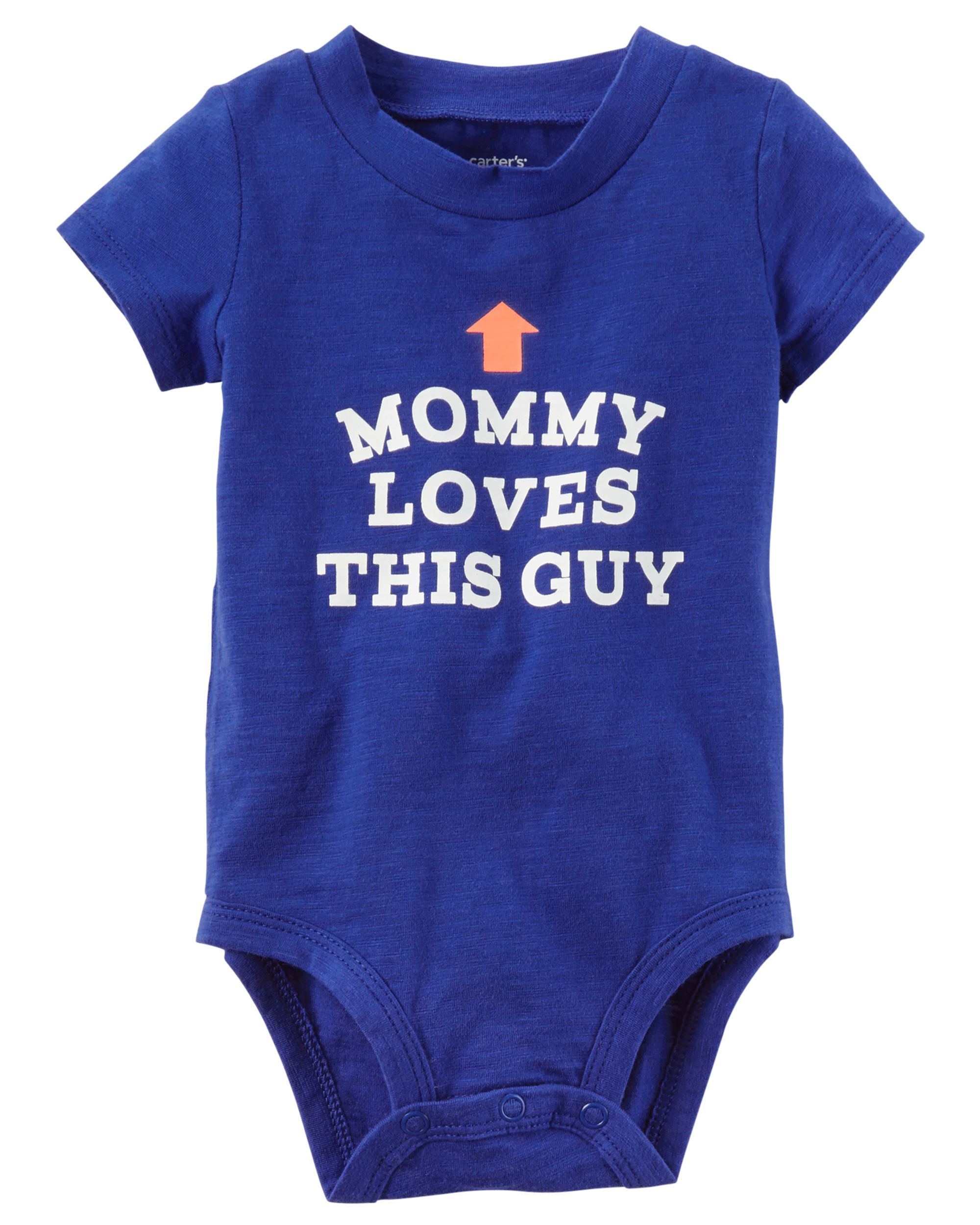 Mommy Loves This Guy Collectible Bodysuit