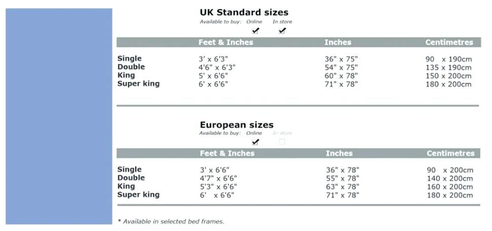 Pin By Anne Winslow On Home Dec Bed Sizes Bed Dimensions